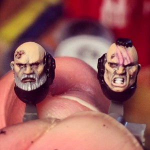 Sternguard faces.
