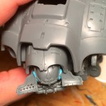 Hinged Imperial Knight face