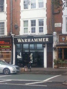 New Games Workshop storefront