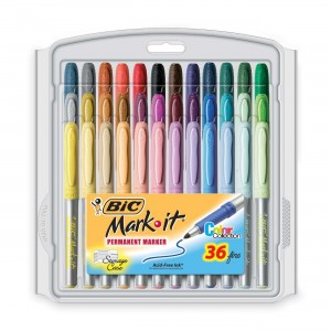Bic permanent markers for tinting board game tokens