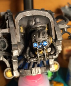 Imperial Knight glowing eyes