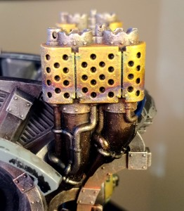 Imperial Knight weathering
