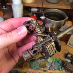 Knight titan battle cannon almost finished
