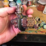Knight titan melta cannon almost finished