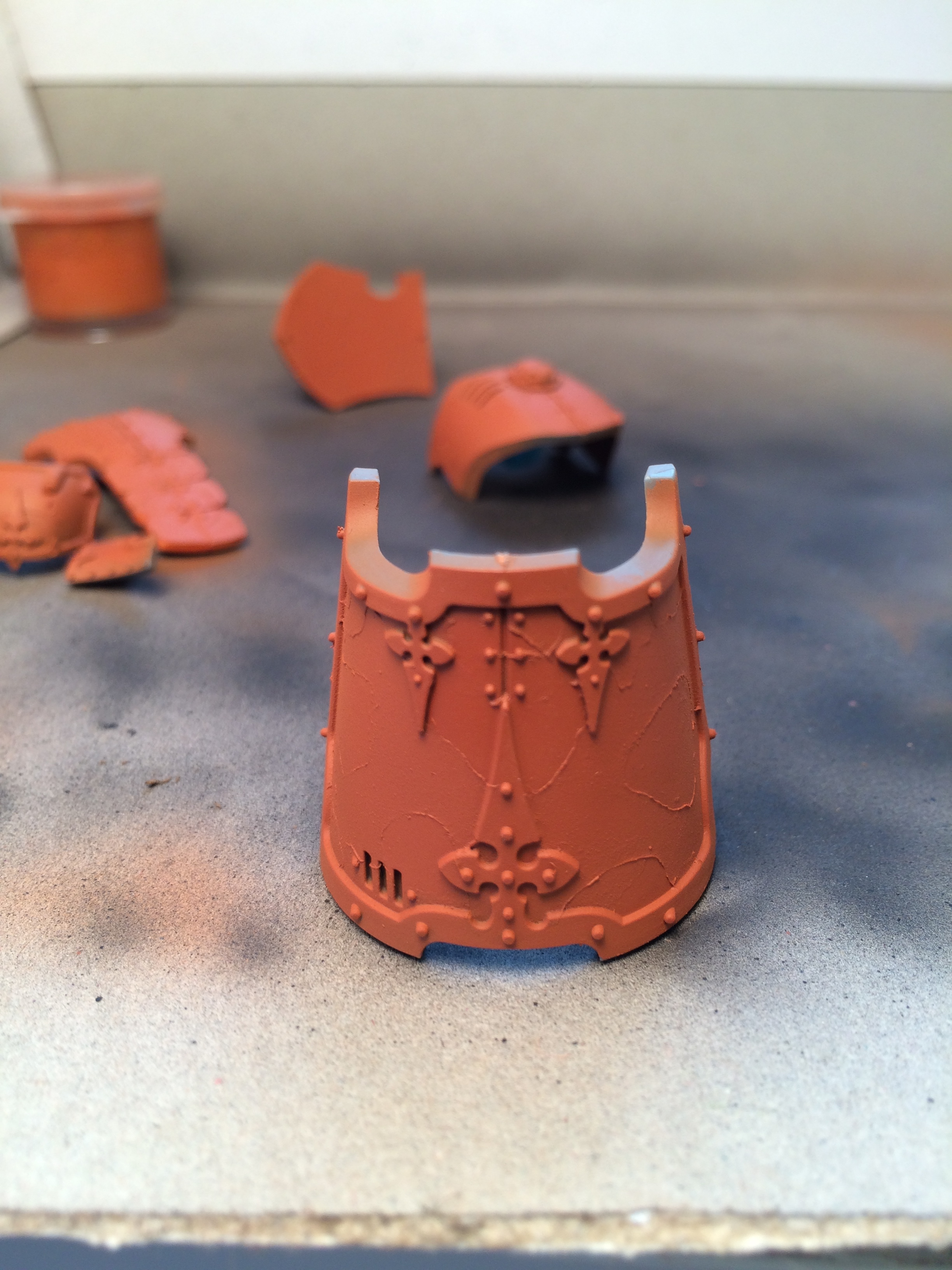 the base rust color