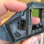 Land Raider interior detailing