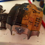 Hand rails and Freeblade badge