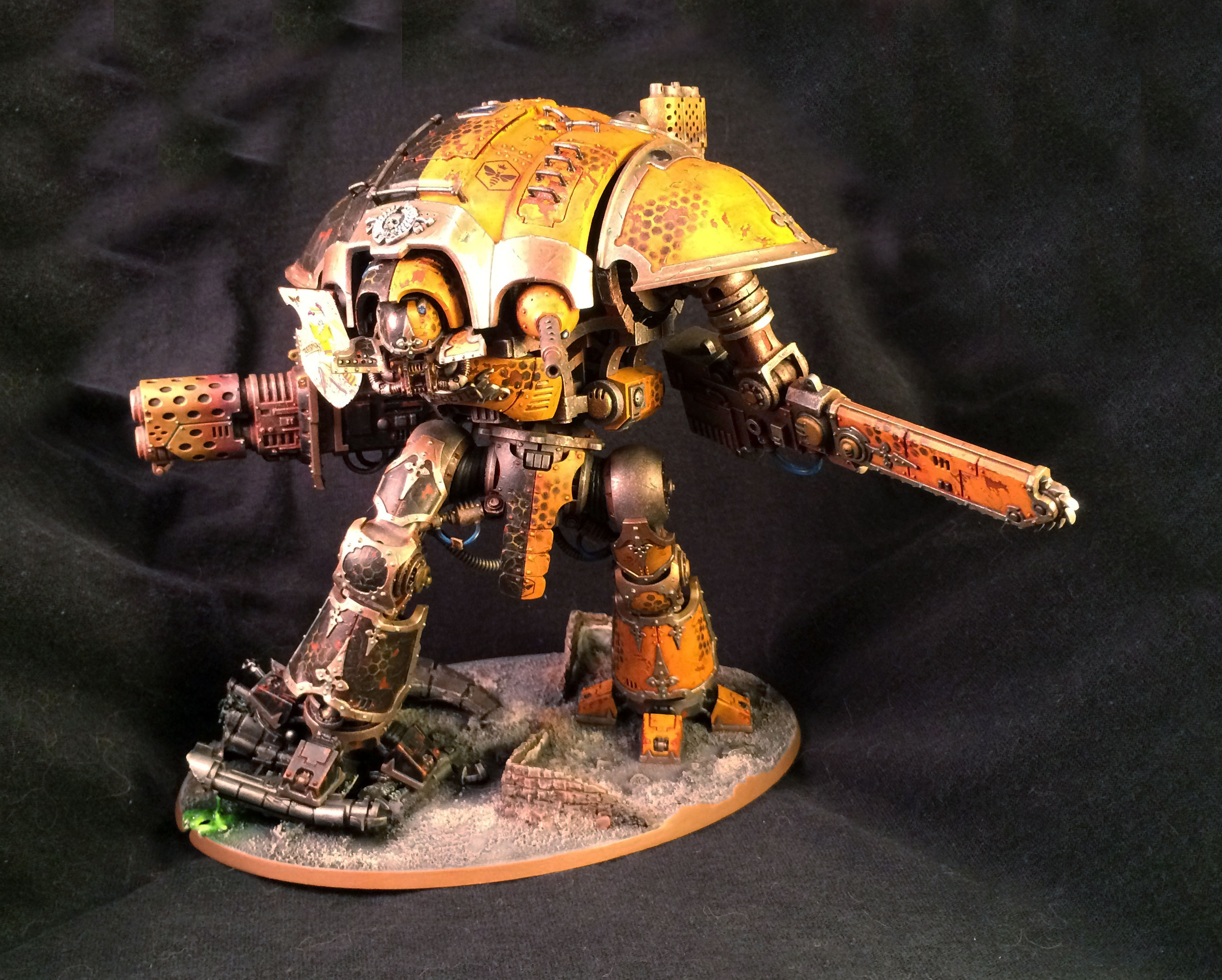 finished imperial knight conversion project