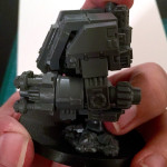 Running space marine dreadnought