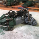 Converted Space Wolf dreadnought arm