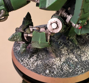 Converted Space Marine Dreadnought leg