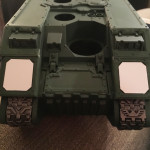 Custom Land Raider frag launchers
