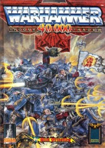 Cover art from the Rogue Trader wargame