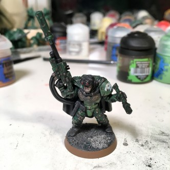 Space Marine scout sergeant