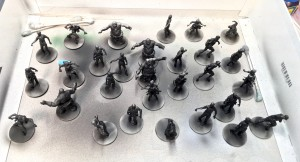 Black and white Zombicide, black undercoat