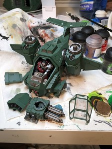 Stormtalon green with wash