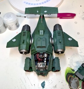 green Storm Talon half-glazed