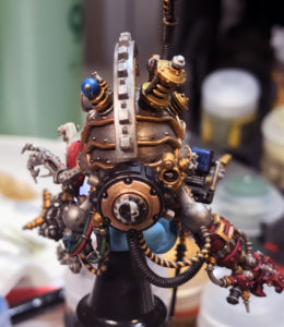 Belisarius Cawl's back and power plant