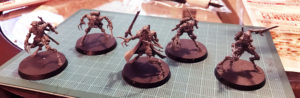 Skitarii Ruststalkers with Transonic Razors and Chord Claws