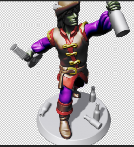 colorized render from Heroforge